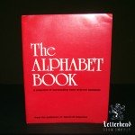 alphabets book letter styles-book