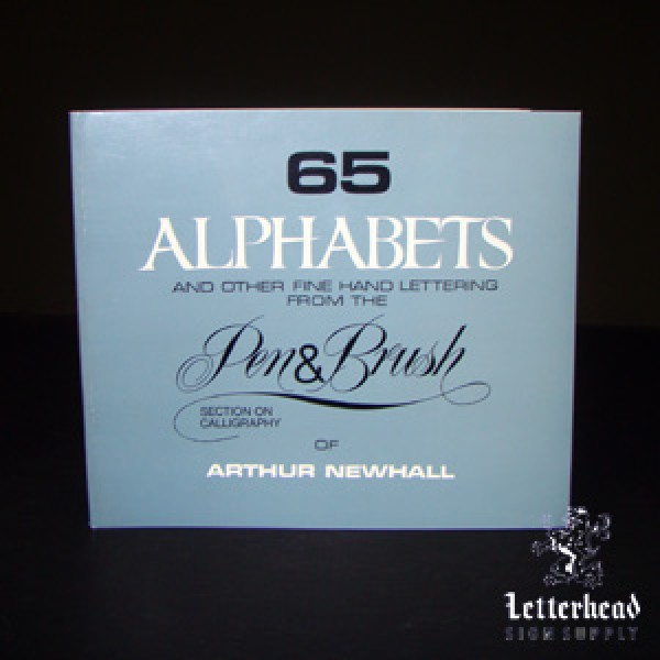 65 alphabets for lettering book
