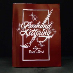 Freehand Lettering Sign Painting-Book