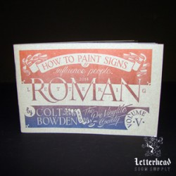 Roman Lettering Styles-Book