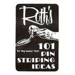 "101 Pinstriping Ideas by Ed ""Big Daddy"" Roth Book"