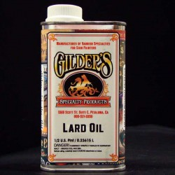 Gilders Lard Oil for Brushes