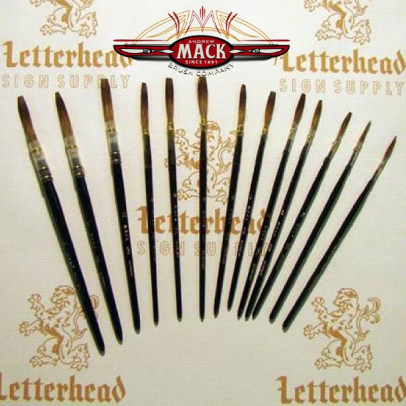 Mack Gray Lettering Quill Size 7-189L