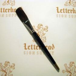 "Flat Lettering Brush ""Soft Stroke"" Brown series-1992 size 1"""