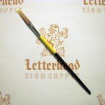"Flat Lettering Brush Grey Stroke series-1932 size 1/4"""