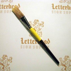 Flat Lettering Brush Grey Stroke series-1932 size 1""