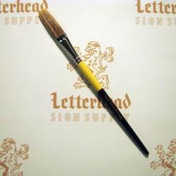 "Flat Lettering Brush Grey Stroke series-1932 size 5/8"""
