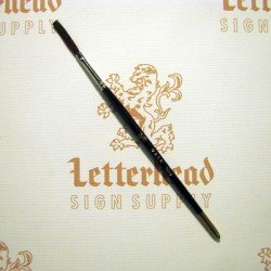 "Flat Lettering Brush ""Soft Stroke"" Brown series-1992 size 1/8"""