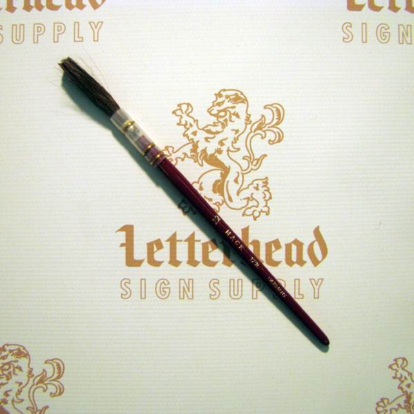 Lettering Quill Brown Squirrel Size 12 Series 179L