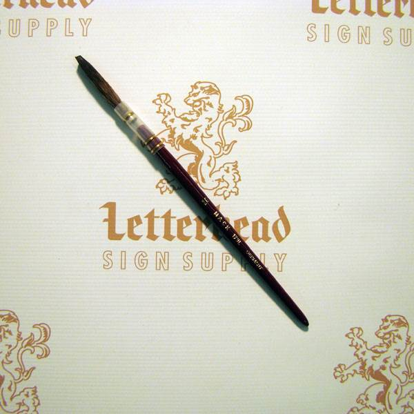 Lettering Quill Brown Squirrel Size 10 Series 179L