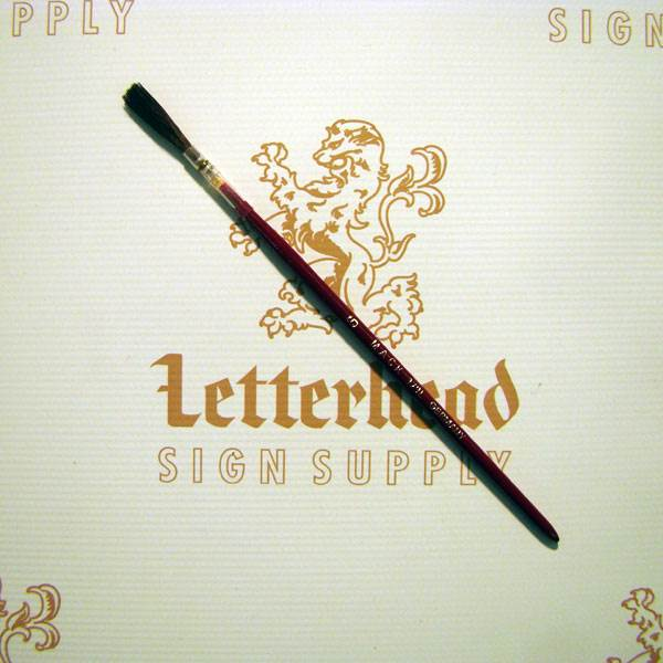 Lettering Quill Brown Squirrel Size 3 Series 179L