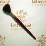 Lettering Quill Brown Squirrel size 30 series 179L