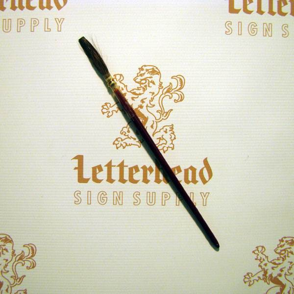 Lettering Quill Brown Squirrel size 4 series 179L