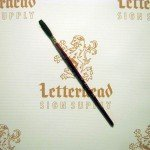Lettering Quill Brown Squirrel size 6 series 179L