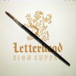 Lettering Quill brush grey series 189L size 3