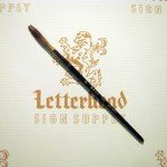 Lettering Quill brush grey series 189L size 9
