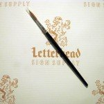 Quill Lettering Brushes Red Sable series 818 size 12