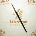 Quill Lettering Brushes Red Sable series 818 size 8