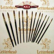 Lettering Quill brushes grey series 189L