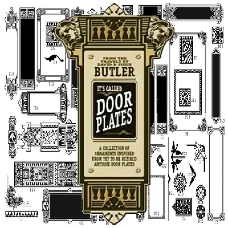 sc 1 st  Letterhead Sign Supply & Butler Door Plates Clip-Art