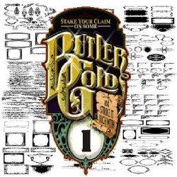 Butler Gold Clipart Volume 1