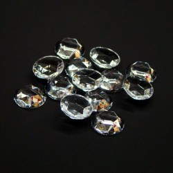 Clear Crystal Sign Jewels 13mm