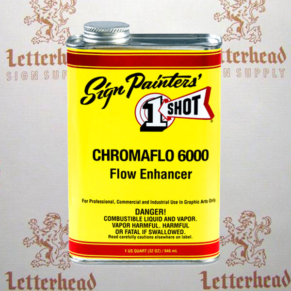 1 shot chromo flow reducer ZZ6000 quart