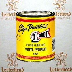 1 Shot Lettering Vinyl Primer 5004 - Quart