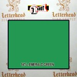 1 Shot Lettering Enamel Paint Emerald Green 142L - Quart