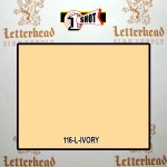 1 Shot Lettering Enamel Paint Ivory 116L - Pint