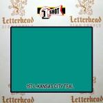 1 Shot Lettering Enamel Paint Kansas City Teal 157L - Quart