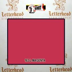 1 Shot Lettering Enamel Paint Magenta 163L - 1/2 Pint