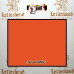1 Shot Lettering Enamel Paint Orange 124L - Pint