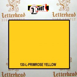 1 Shot Lettering Enamel Paint Primrose Yellow 130L - 1/2 Pint