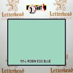 1 Shot Lettering Enamel Paint Robin Egg Blue 151L - Quart