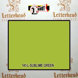 1 Shot Lettering Enamel Paint Sublime Green 141L - 1/2 Pint