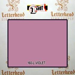 1 Shot Lettering Enamel Paint Violet 160L - 1/2 Pint