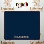 1 Shot Lettering Enamel Paint Dark Blue 158L - Quart