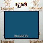 1 Shot Lettering Enamel Paint Light Blue 152L - Pint