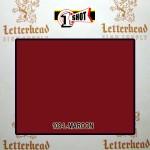 1 Shot Lettering Enamel Paint Maroon 108L- Pint