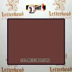 1 Shot Lettering Enamel Paint Medium Brown 114L - Pint