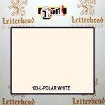 1 Shot Lettering Enamel Paint Polar White 103L - Quart