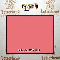 1 Shot Lettering Enamel Paint Salmon Pink 168L - 1/2 Pint