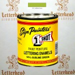 1 Shot Lettering Enamel Paint Sublime Green 141L - Quart