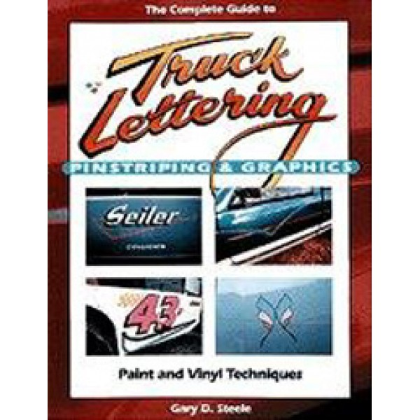 Truck Lettering Pinstripe Graphics-Book