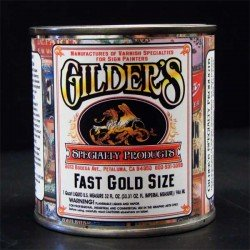 Gilders Fast Gold Size Gold Leaf Adhesive