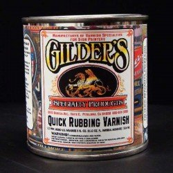 Gilders Quick Rubbing Varnish