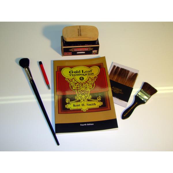 Gold Leaf Brushes Starter Kit