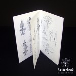 Pinstriping Sketchbook-booklet