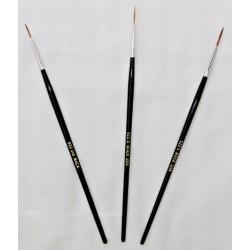 Mack Series 522 Liner Sable Brushes